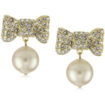 kate spade all wrapped up pearls earrings