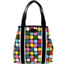 kate spade rainbow noel eddie shopper bag