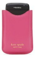 kate spade black berry pouch
