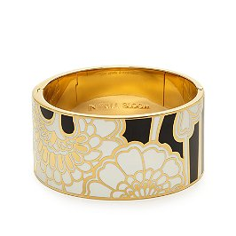 kate spade in full bloom idiom bangle