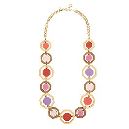 kate spade octagonal long necklace